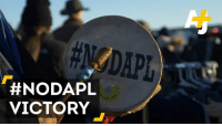 Memes, Protest, and Army: A  #NODAPL  EST  VICTORY This is what victory sounds like for #NoDAPL protesters. The army just blocked the current route for the Dakota Access Pipeline.