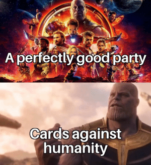 Overrated shite!!!: A perfectly good party  Cards against  humanity Overrated shite!!!