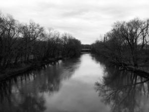 A pic of a river near my house: A pic of a river near my house