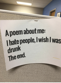 A Poem About Me