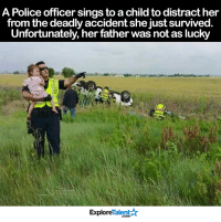 I salute this man 🙏😔❤️  Read the heartbreaking story └▶http://WowAmazing.com/heartwarming/police-officer-comforts-baby-knowing-her-father-is-dead-in-the-car-behind/: A Police officer sings to a childto distract her  from the deadly accident she just survived  Unfortunately, her father was not as lucky  Talent  Explore I salute this man 🙏😔❤️  Read the heartbreaking story └▶http://WowAmazing.com/heartwarming/police-officer-comforts-baby-knowing-her-father-is-dead-in-the-car-behind/