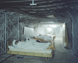 Asthma, Helps, and Salt: A Polish resort for asthma patients in a salt mine. The salt helps keep the lungs dry and reduce asthma attacks.