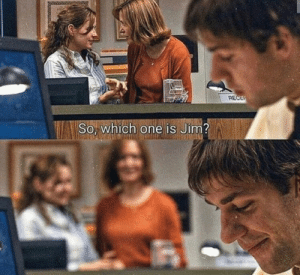 A pure wholesome scene in The Office: A pure wholesome scene in The Office