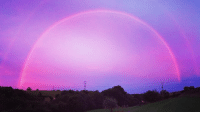 A rare 'pink rainbow' has been spotted in the sky above the west of England. The phenomenon was caused by a regular rainbow and a pink sunset happening at same time. 🌈🌆😍PHOTO: Sarah Aggett. See more pictures bbc.in-PinkRainbow pink pinkrainbow rainbow rainbows weather amazing beautiful divine BBCNews @bbcnews: A rare 'pink rainbow' has been spotted in the sky above the west of England. The phenomenon was caused by a regular rainbow and a pink sunset happening at same time. 🌈🌆😍PHOTO: Sarah Aggett. See more pictures bbc.in-PinkRainbow pink pinkrainbow rainbow rainbows weather amazing beautiful divine BBCNews @bbcnews