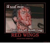 ~Beast~: a real man  laves her all month lang.  RED WINGS  Let your inner vampire out!  motifake com ~Beast~