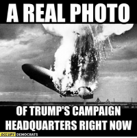 "Memes, Image, and Images: A REAL PHOTO  OF TRUMP'S CAMPAIGN  HEADQUARTERS RIGHT NOW  OCCUPY DEMOCRATS Trump's campaign is imploding! ""Share"" if you agree!   Image: Occupy Democrats"