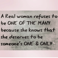Facts, Memes, and Relationships: A Real woman refuses to  be ONE OF THE MANY  because she knows that  she deserves to be  someone s  ONE & ONLY 💯💯Yes !! Swyd go 👣👣 @poor_lil_rich_girl @poor_lil_rich_girl facts woman women strongwoman strongwomen inspiration romantic relationship relationships lady ladies girlfriend realtalk realdeal reallife tagafriend strong positivevibes female couples souls soulmates soul iloveyou ilovehim female quotesdaily couple couplegoals she