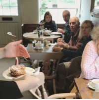 Birthday, Cake, and Free: A regular customers heartwarming reaction to a free cake on her birthday via /r/wholesomememes https://ift.tt/2NzyyuL
