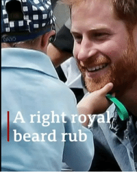 "Beard, Memes, and Prince: A right roya  beard rub This is the cutest breach of royal protocol you'll ever see. Five-year-old Luke Vincent couldn't resist touching Harry's beard when the Prince and Meghan visited their school in Australia. Tap on the link in our bio to find out the reason why Luke ""didn't give [Harry] any choice"" in the matter. princeharry beard beards meghanmarkle royalfamily bbcnews"