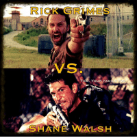 A/S  YOUR FAM  Y TOO  SHANE WALSH Who do you like more? Rick or Shane?  Shane, no contest!!-Merle