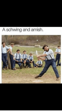 Press F to pay respects: A schwing and amish Press F to pay respects