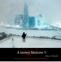 Memes, Weird, and World: A snowy Moscow  Weird World
