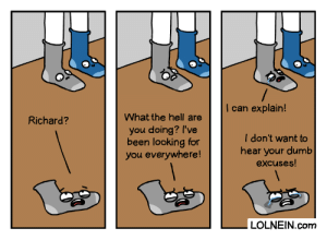 A Socking Discovery: A Socking Discovery