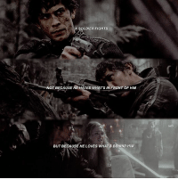 BELLAMY BLAKE WILL DO ANYTHING TO PROTECT CLARKE - - - INSPIRED BY SOMEONE IDK SORRY - [_tags_] bellarke bellarkereunion bellarkehug bellamyblake clarkegriffin wanheda heda reshopheda clexa alyciadebnamcarey elizataylor bobmorley love the100 linctavia octaviablake ravenreyes hedalexa nian tvd thevampirediaries delena stelena klaroline klamille theoriginals otp lincolnkomtrikru javen: A SOLDIER FIGHTS  NOT BECAUSE AE HATES WHAT'S IN FRONT OF HIM  BUT BECAUSE HE LOVES WHAT'S BEHIND HIM BELLAMY BLAKE WILL DO ANYTHING TO PROTECT CLARKE - - - INSPIRED BY SOMEONE IDK SORRY - [_tags_] bellarke bellarkereunion bellarkehug bellamyblake clarkegriffin wanheda heda reshopheda clexa alyciadebnamcarey elizataylor bobmorley love the100 linctavia octaviablake ravenreyes hedalexa nian tvd thevampirediaries delena stelena klaroline klamille theoriginals otp lincolnkomtrikru javen