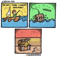 "<p><a href=""https://omg-images.tumblr.com/post/171228892637/a-special-fish-oc"" class=""tumblr_blog"">omg-images</a>:</p>  <blockquote><p>A Special Fish… [OC]</p></blockquote>: A SPECIAL FISH  OH SHIT I THINKI CAUGHT  SOMETHING!  WOOSH  NDI  @CUJKOCOMICS <p><a href=""https://omg-images.tumblr.com/post/171228892637/a-special-fish-oc"" class=""tumblr_blog"">omg-images</a>:</p>  <blockquote><p>A Special Fish… [OC]</p></blockquote>"