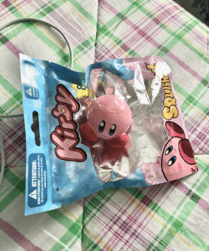 A Squishy Kirby I purchased from Best Buy. This one is my favorite.: A Squishy Kirby I purchased from Best Buy. This one is my favorite.