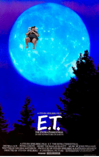 Music, Reddit, and Chris Christie: A STEVEN SPIELBERG FILM  E.T  THE EXTRA-TERRESTRIAL  IN HIS ADVENTURE ON EARTH  A STEVEN SPIELBERG FILM E.T. THE EXTRA-TERRESTRIAL  DEE WALLACE PETER COYOTE HENRY THOMAS AS ELLIOTT MUSIC BY JOHN WILLIAMS  WRITTEN BY MELISSA MATHISON PRODUCED BY STEVEN SPIELBERG & KATHLEEN KENNEDY  DIRECTED BY STEVEN SPIELBERG A UNIVERSAL PICTURE TE RRY A