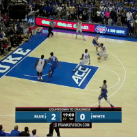 ZION WILLIAMSON #Countdown2Craziness Just watch it!   (Via @FrankieVision)    https://t.co/qwCiItKutz: A SUB ABOVE  2.  COUNTDOWN TO CRAZINESS  BLUE  19:00  27 1st  WHITE  FRANKIEVISION.COM ZION WILLIAMSON #Countdown2Craziness Just watch it!   (Via @FrankieVision)    https://t.co/qwCiItKutz