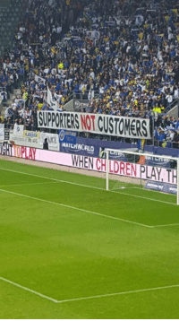 Memes, Spain, and Bosnia: A  SUPPORTERS NOT CUSTOMERS  MATCHWORLD HEU-  Hi Ln  WENCH LDREN PLAY T Bosnia & Herzegovina supporters protesting the awful €50 - €120 ticket prices in a friendly against Spain