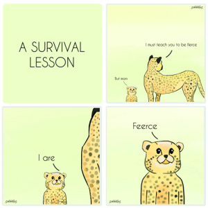 A survival lesson!: A survival lesson!