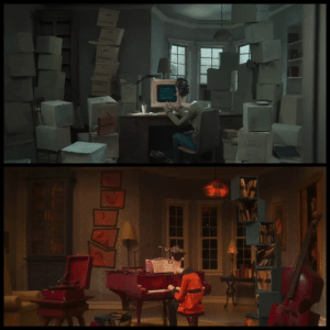 The Real, World, and Real World: A The creative similarities between the real world and the other world (Coraline 2009)
