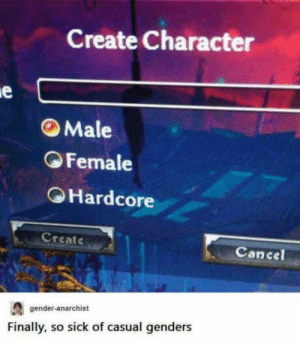 A third gender we all could get behind by modsarefaggotz MORE MEMES: A third gender we all could get behind by modsarefaggotz MORE MEMES