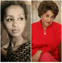 Memes, Black, and Today: -A This lady stared in the sitcom entitled  The Jefferson's today she is 87 years young. It was said that black don't crack for her that is an understatement.