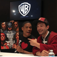 Memes, Gateway, and Awesome: A TimeWarner Company Can't wait for this 2 to shine in JusticeLeague RayFisher Cyborg EzraMiller TheFlash JoinTheLeague UniteTheLeague SanDiegoComicCon2017 dccomics warnerbros dccinematicuniverse dcextendeduniverse dceu dcfilms ManofSteel BatmanvSuperman DawnofJustice SuicideSquad WonderWoman JusticeLeague Aquaman TheBatman GothamCitySirens TheFlash Nightwing Batgirl Cyborg GreenLanternCorp heroic_gateway @wbpictures @heroic.gateway - . . . . . -Make Sure to Give this Post a LIKE and be so kindly Leave your thoughts and comments below. Make sure to turn on Accounts Post-Notification for more of our Daily Awesome DCEU posts.