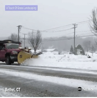 Snow falls and snow plows get to work as winter storm passes through upstate NewYork and Connecticut. (@abcnews) ❄️🌨 WSHH: A Touch Of Grass Landscaping  Bethel, CT  NEWS  abc Snow falls and snow plows get to work as winter storm passes through upstate NewYork and Connecticut. (@abcnews) ❄️🌨 WSHH