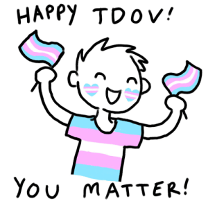 a-trans-comic-by-me:  March 31 2020 - Happy Trans Day of Visibility!: a-trans-comic-by-me:  March 31 2020 - Happy Trans Day of Visibility!