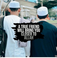 """Bad, Memes, and Party: A TRUE FRIEND  WILL BRING YOU  CLOSER TO  ALLAH You will not find anyone who believes in Allah and the Last Day, making friendship with those who oppose Allah and His Messenger, even though they were their fathers, sons, brothers or their relatives. … They are the Party of Allah, indeed it is the Party of Allah that will be successful.'' (Al-Qur'an 58:22) Prophet Muhammad (peace be upon him) who has the most noble character and dealings with fellow humans gave us a clear message in regard to friendship. """"A person is likely to follow the faith of his friend, so look whom you befriend."""" Abu Dawud and at-Tirmidi Good friendship versus bad friendship Allah says in the Qur'an: """"And (remember) the Day when the wrong-doer will bite his hands and say: Woe to me! Would that I had taken a path with the Messenger. Woe to me! If only I had not taken so- and-so as a friend! He has led me astray from this Reminder (the Qur'an) after it had come to me. And Satan is ever a deserter to man in the hour of need."""" (Al-Qur'an 25:27-29) """"Friends on that Day will be enemies one to another, except the righteous."""" (Al-Qur'an 43:67)"""