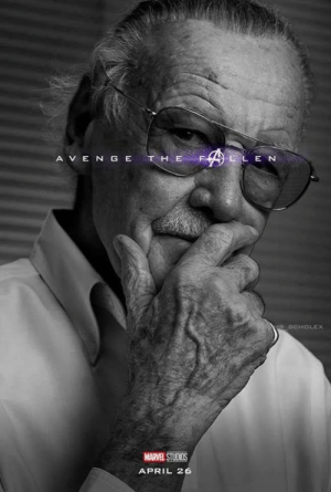 Memes, Marvel, and April: A V E N GE  DCHOLEX  MARVEL STUOIMS  APRIL 26 Credit: @mr_scholex |IG|   #StanLee #StanTheManLee #AvengeTheFallen