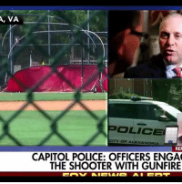 Part 2 of 3 Clip 1 of 2 - Swipe Breaking coverage of Rep. Scalise shooting House Majority Whip Steve Scalise was shot and multiple congressional aides were also hit by a gunman with a rifle who opened fire at a GOP baseball practice in Virginia Wednesday morning. https:-youtu.be-Y0yE6v4dHdo http:-www.cincinnati.com-story-opinion-contributors-2017-06-06-human-trafficking-easy-ordering-pizza-371076001- http:-www.foxnews.com-us-2017-06-14-scalise-shooting-suspect-idd-as-james-hodgkinson.html: A, VA  OLICE  CITY OF ALEXANDRIA  RER  CAPITOL POLICE: OFFICERS ENGA  THE SHOOTER WITH GUNFIRE Part 2 of 3 Clip 1 of 2 - Swipe Breaking coverage of Rep. Scalise shooting House Majority Whip Steve Scalise was shot and multiple congressional aides were also hit by a gunman with a rifle who opened fire at a GOP baseball practice in Virginia Wednesday morning. https:-youtu.be-Y0yE6v4dHdo http:-www.cincinnati.com-story-opinion-contributors-2017-06-06-human-trafficking-easy-ordering-pizza-371076001- http:-www.foxnews.com-us-2017-06-14-scalise-shooting-suspect-idd-as-james-hodgkinson.html