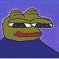 A very sad, deformed Pepe