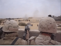 A video from my first deployment. Many people DM me asking what is was like, how many people did I kill, how many Marines did I lose etc. Although I am comfortable talking about these things with close friends, I am not going to discuss the most intimate and horrifying moments of my life with a stranger on the Internet. Please be respectful when asking ANY combat veteran about their experience. It's not a matter of triggering my PTSD, it's just the same decency you would want if someone where talking to you about a life altering experience. God bless.: A video from my first deployment. Many people DM me asking what is was like, how many people did I kill, how many Marines did I lose etc. Although I am comfortable talking about these things with close friends, I am not going to discuss the most intimate and horrifying moments of my life with a stranger on the Internet. Please be respectful when asking ANY combat veteran about their experience. It's not a matter of triggering my PTSD, it's just the same decency you would want if someone where talking to you about a life altering experience. God bless.
