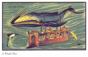 scifiseries:  1800s submarine: A Whale-Bus scifiseries:  1800s submarine