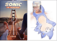 Reddit, Tumblr, and Weird: A WHOLE NEW SPEED OF HERO  SONIC  SONIG  THE HEDGEHOG  11.08.19 gamercrunch:  Sonic legs on the new movie poster looks…weird. via reddit
