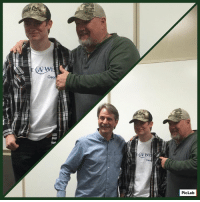 Memes, The Weekend, and Jeff Foxworthy: (A Wi  PicLab Jeff Foxworthy and I got to do something pretty special in Kansas over the weekend. We got to meet this awesome guy!  Great to meet ya, Garrett and ya don't forget to Git-R-Done  Thanks to Make-A-Wish America for helping set this up.