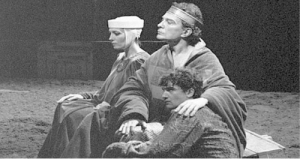A young (and not famous yet) Antonio Banderas playing Gaveston at Cervantes Theatre, 1984: A young (and not famous yet) Antonio Banderas playing Gaveston at Cervantes Theatre, 1984