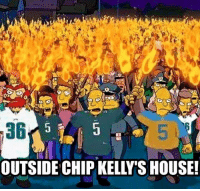 Chip Kelly, Memes, and Nfl: a6  OUTSIDE CHIP KELLY SHOUSE! Yet, if the Giants lose, they're still only a game out in the East Credit: Rounak Bedi | LIKE NFL Memes!
