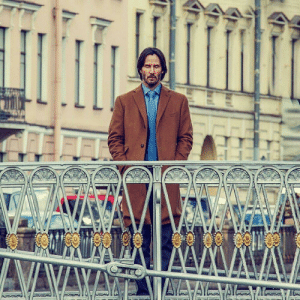 Af, Russia, and Looking: AAAL-ALM= Need more Keanu? Here he is looking dapper af in Russia