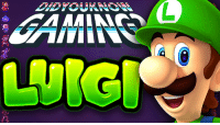 Check out the latest Did You Know Gaming?, Luigi! https://www.youtube.com/watch?v=9rLeodlg4co&list=PL26D7E5A7D29CCAB3: AAMINS Check out the latest Did You Know Gaming?, Luigi! https://www.youtube.com/watch?v=9rLeodlg4co&list=PL26D7E5A7D29CCAB3