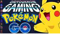 Check out the latest Did You Know Gaming?, Pokémon Go! https://www.youtube.com/watch?v=u6kE3AagyoQ&list=PL26D7E5A7D29CCAB3: AAMINSA Check out the latest Did You Know Gaming?, Pokémon Go! https://www.youtube.com/watch?v=u6kE3AagyoQ&list=PL26D7E5A7D29CCAB3