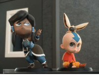 Aang and Korra have hilarious chibis now XD snag them here: http://www.zwyerind.com/figure_chibi_korra.html ~The Flying Lion: Aang and Korra have hilarious chibis now XD snag them here: http://www.zwyerind.com/figure_chibi_korra.html ~The Flying Lion