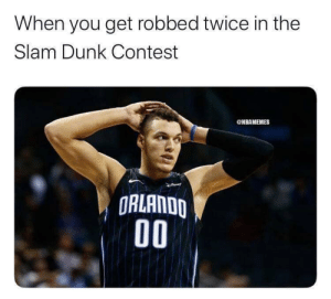 Aaron Gordon gets robbed again 🤦‍♂️ https://t.co/ob1j8f1V3y: Aaron Gordon gets robbed again 🤦‍♂️ https://t.co/ob1j8f1V3y