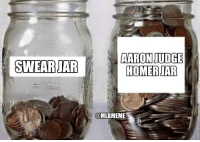 Well that filled up quick!: AARON JUDGE  HOMER JAR  @MLBMEME Well that filled up quick!