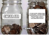 Well that filled up quickly!: AARON JUDGE  HOMERJAR  @MLBMEME Well that filled up quickly!
