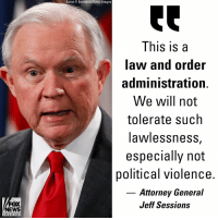 Attorney General Jeff Sessions announced Friday that suspect Cesar Sayoc faces five federal charges in connection with the suspicious packages sent to prominent Democrats.: Aaron P. Bernstein/Getty Images  This is a  law and order  administration.  We will not  tolerate such  awlessnesS,  especially not  political violence.  Attorney General  Jeff Sessions  FOX  NEWS  c ha n ne l Attorney General Jeff Sessions announced Friday that suspect Cesar Sayoc faces five federal charges in connection with the suspicious packages sent to prominent Democrats.