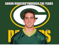 Aaron Rodgers, Sports, and Who: AARON RODGERS THROUGH THE YEARS TAG a friend who would agree 😂