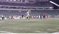 Memes, Game, and 🤖: .@AB84 warming up pregame.  Brown is ACTIVE for tonight's game. #PITvsCIN https://t.co/1AGk00QJ0A